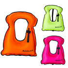 Adult/Kids Inflatable Life Jacket Vest for Snorkeling Boating Swimming Hot