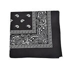 black bandana clothes - Pack of 36 Uni Style Apparel 100% Cotton 22 x 22 Inch Paisley Printed Bandana