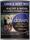 Dave's Naturally Healthy Liver & Beef Canned Dog Food