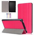 For Amazon Kindle Fire HD 8 2017 Tablet Smart Case Flip Thin Leather Stand Cover