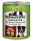 Newman's Own Organics Beef and Liver Canned Food for Dogs