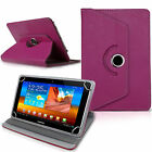 "New 360 Rotatable Pu Leather Case Cover For Android Tablet PC 9.7"" 10"" 10.1"" lot"