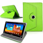 """New 360 Rotatable Pu Leather Case Cover For Android Tablet PC 9.7"""" 10"""" 10.1"""" lot"""