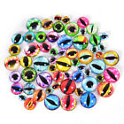 20Pcs Glass Doll Eye Making DIY Crafts For Toy Dinosaur Animal Eyes Accessory GX