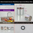 Tap Aerator Male Female Chrome Plated Brass-Spout End Diffuser Filter 18mm-28mm