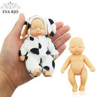Внешний вид - 1/12 Keychain Sleeping Baby BJD SD Doll + Clothes 5 jointed dolls movable Gift