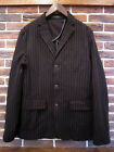POLO RALPH LAUREN WHALLEY BLACK PINSTRIPE STRIPED JACKET BLAZER 42R $375+