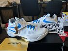 Nike Zoom KD IV 4 CT16 QS Battle Tested White Photo Blue Wolf Grey  AQ5103-100 8cb8914dc