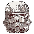 Star Wars SOLO Empire Mudtrooper helmet Sticker decal car laptop scrapbook
