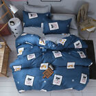 Single Queen King Bed Set Pillowcase Quilt Cover Cotton Blend oUSl Husky Dog hsq