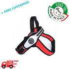 DOG HARNESS FOR BIG DOGS WITH CARBON EFFECT Made In Italy TRE PONTI QUALITY