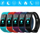 Heart Rate Smart Bracelet Fitness Tracker Step Counter Health Monitor Band Watch