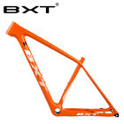 New Full Carbon mtb Frame 29er orange Mountain Bike Frame Disc Brake S M l frame