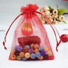 7x9cm 9x12cm 100 pcs Organza Gift Bags Drawable Voile Wedding Favor Candy Bag