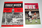 Forest Review Match Day Magazine Nottingham Forest v Crystal Palace 1971