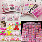 Wholesale 10/20/30pcs Mixed Cartoon Styles Baby Kids Girls HairPin Hair Clips