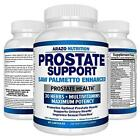 Prostate Supplement - Saw Palmetto + 30 HERBS - Reduce Frequent Urination,