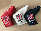 Golf Cover Headcover America USA Flag For any brand Putter Gift