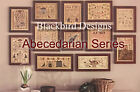 Внешний вид - Blackbird Designs Loose Feathers Abecedarian Series Patterns 1 - 12