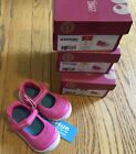 NIB Surprize by Stride Rite Pink Petula Mary Jane Toddler Girl Shoes Size2 3 4 5