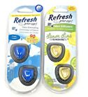 Refresh Your Car! Odor Eliminating Mini Diffuses Pick One! New Free Shipping
