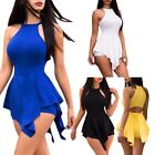New Summer Sexy Women Pure Color Playsuit Party Jumpsuit Trousers Shorts
