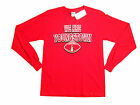 "YOUNGSTOWN STATE PENGUINS ""WE ARE"" SCREEN PRINTED ADULT RED T-SHIRT NEW"
