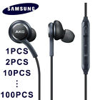 Samsung Galaxy S9 S8 S7 Note 8 Headset Earphone Earbud In-Ear AKG EO-IG955 Lot