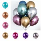 "Внешний вид - 10Pcs 12"" Metallic Balloons Bouquet Pearl Ballon Wedding Birthday Party Supplies"