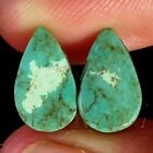 Natural Tibet Turquoise Oval Pear Pair Cabochon Loose Gemstone Collection