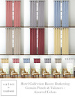 Regal Hotel Collections Monroe Room Darkening Curtains - Assorted Colors & Sizes