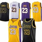 NWT Los Angeles Lakers Lebron James #23 Jersey Black White Purple Gold Pre-order