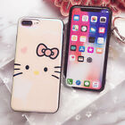 New Luxury Cute Cat Face Silicone TPU Soft Cover Case for Apple Iphone 6 7 8 X