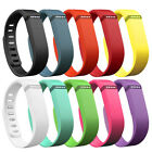 For Fitbit Flex Band Replacement Wrist Bands Wristband Large Black w/ Clasps