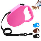 16ft Tape Retractable Dog Leash Automatic Extending Walking Lead Rope For Pet