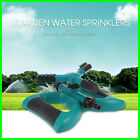 360 Degrees Garden Water Sprayers Tool  With 3 Arm Nozzles  Automatic Rotating