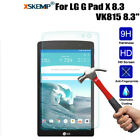 Premium Real Screen Protector Tempered Glass Protective Film Cover For LG Tablet