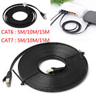 Cat6 Cat7 Ethernet Cable Lan Network Patch Cable Cord For Laptop Internet Router