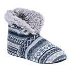 MUK LUKS Mens Slipper Bootie