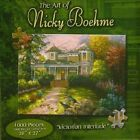"""Victorian Interlude 1000 Piece Puzzle - The Art of Nicky Boehme - Karmin 20""""X27"""""""