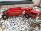 1950s NY-LINT GIANT TOURNAHOPPER EARTHMOVER PRESSED STEEL TOY SUPER NICE SHAPE