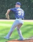 Chase Anderson Milwaukee Brewers Game Orig PhotoArt Pic Var Sizes on Ebay