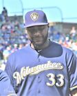 Chris Carter Milwaukee Brewers 2016 Game Orig PhotoArt Pic Var Sizes on Ebay