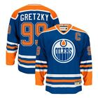 Wayne Gretzky CCM Edmonton Oilers Heroes of Hockey Authentic Throwback Jersey $199.99 USD on eBay