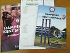 Hampshire v Kent Royal London Programme Lord's 30 June 2018 Mint sold out RARE