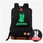 Zootopia Movie Judy Hopps rabbit Messenger Luminous backpak bag Glow in Dark