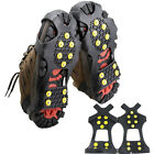 US Non-slip snow cleats Anti-Slip overshoes Studded Ice Traction shoe covers Lot