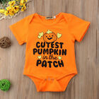 Halloween Newborn Kids Baby Boy Girl Romper Bodysuit Jumpsui