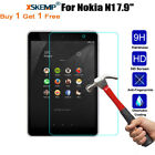 """2X Full Clear Cover Tempered Glass Screen Protector Film For Nokia N1 7.9"""" inch"""