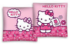 Personalised Embroidered Hello Kitty Pink Two Sides Pink Cushion Cover+Pad